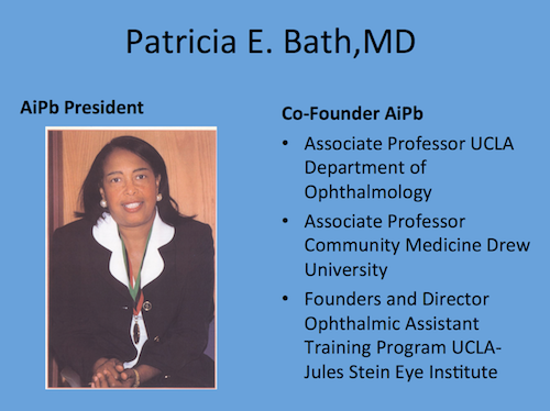 picture of Dr. Patricia Bath