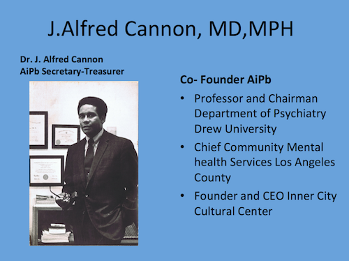 picture of Dr. Alfred Cannon