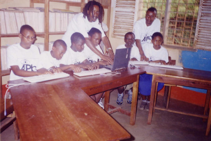 picture of AiPb donation reach the Mwereni School in Tanzania