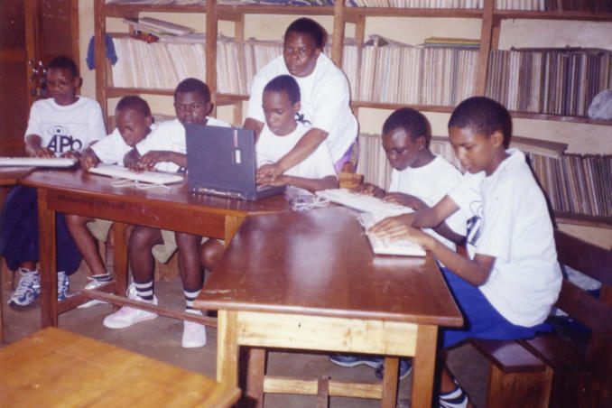 ComputerVision Program for blind children in Tanzania