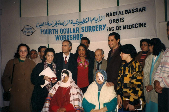 picture of AiPb in Tunisia 1994