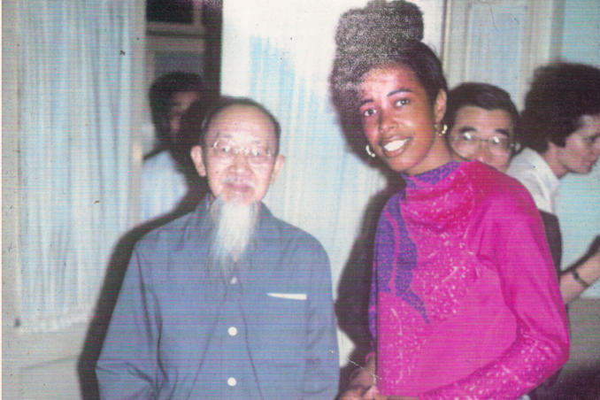 picture of Professors Chan and Bath China 1978