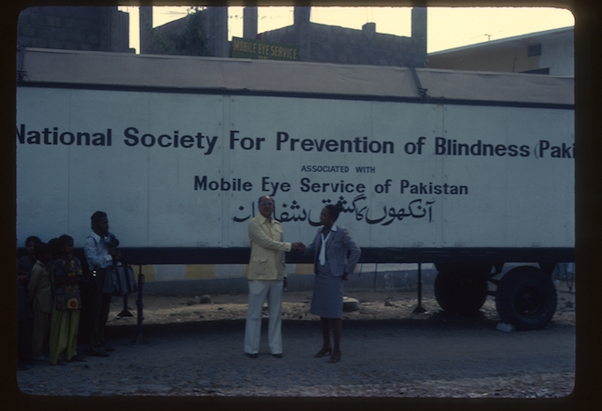 picture of Drs Bath and Kirmani in Pakistan