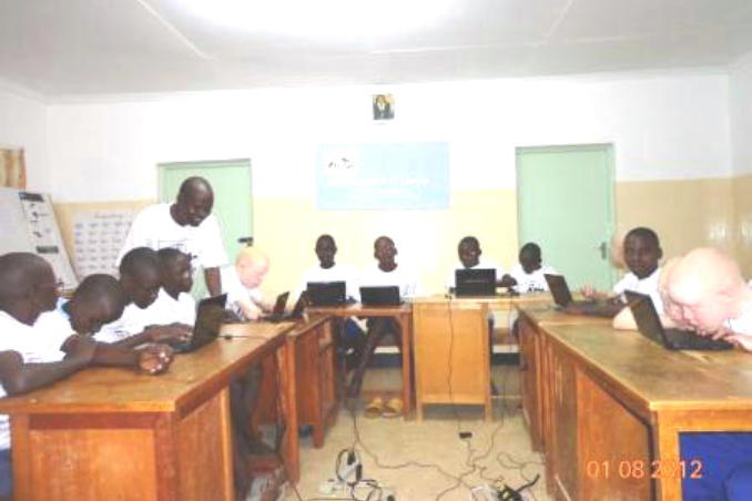 picture of New Computer Classroom in Kenya