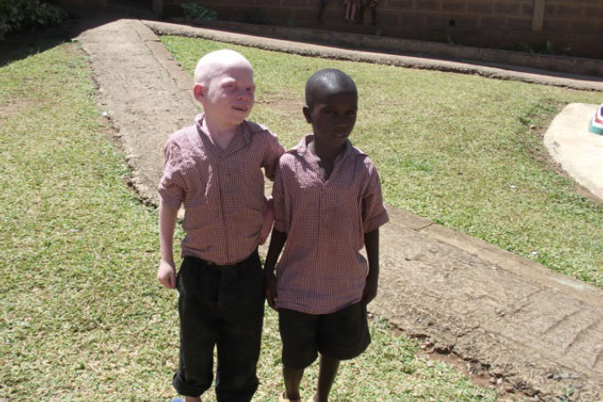 picture of Kenya Visual Impairment children