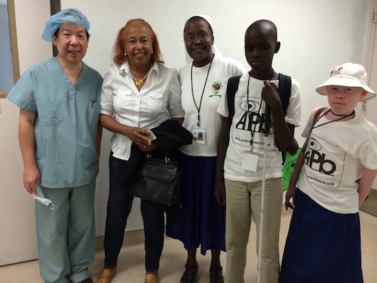 picture of Dr. Quon Humanitarian